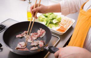 肉野菜炒めも意外とヘルシー