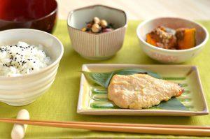 鰆の西京焼定食