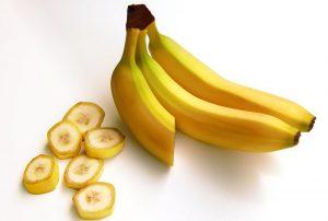 バナナの輪切りでインスタ映え朝食