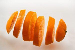 輪切りオレンジ